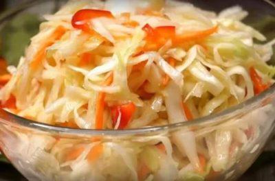 засолить капусту быстро и вкусно в кастрюле