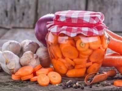 как солить морковь на зиму