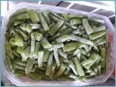 как заморозить спаржевую фасоль на зиму в домашних условиях