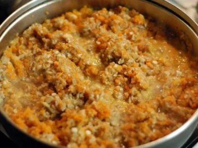 грибная икра на зиму с морковью и луком