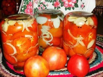 помидоры по чешски на зиму