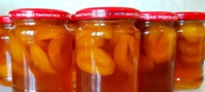 абрикосовое варенье без варки