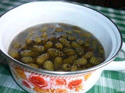 варенье из зеленых сосновых шишек