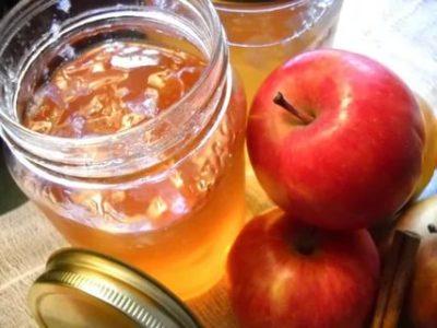 варенье из яблок пятиминутка на зиму