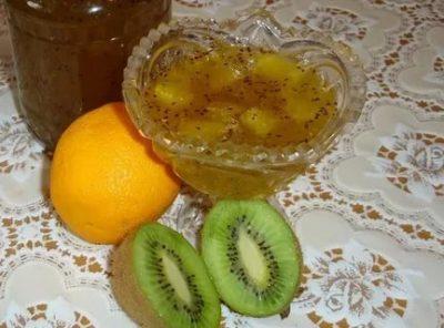 варенье из киви с апельсином