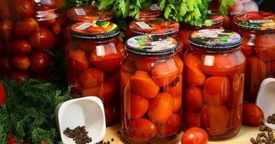 помидоры без уксуса на зиму