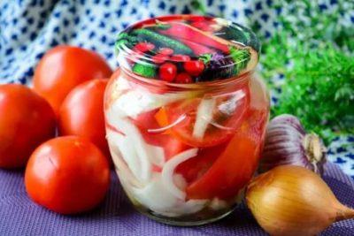 помидоры дольками на зиму без стерилизации