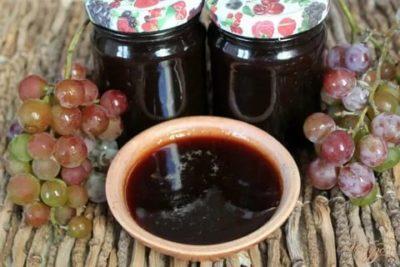 джем из винограда