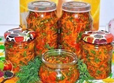 заправка из моркови на зиму