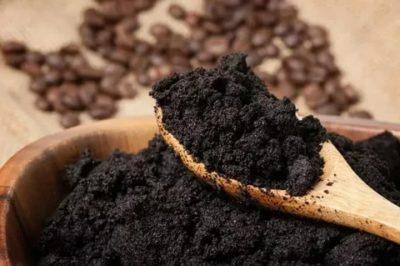 кофейный жмых как удобрение