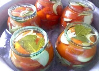 помидоры на зиму резаные