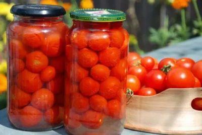 помидоры на зиму сладкие