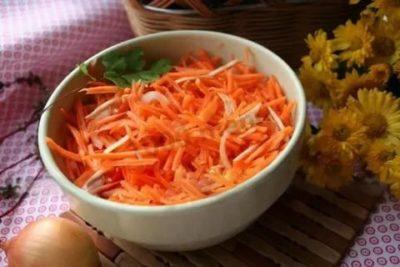 квашеная морковь на зиму