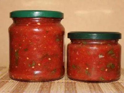 как сделать огонек из помидоров на зиму