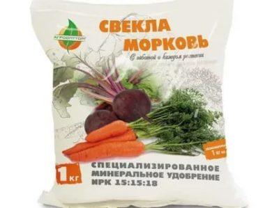 удобрения для моркови при посадке