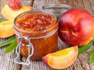 варенье из груш и персиков