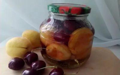 вишнево абрикосовое варенье