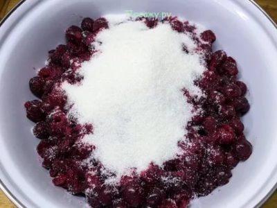 варенье без сахара из вишни
