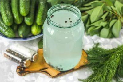 рассол для огурцов на 1 литр воды