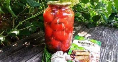 помидоры на зиму с корицей