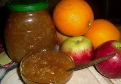 варенье из яблок с кожурой