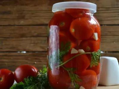 помидоры без закатки