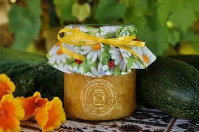 варенье из кабачков с имбирем