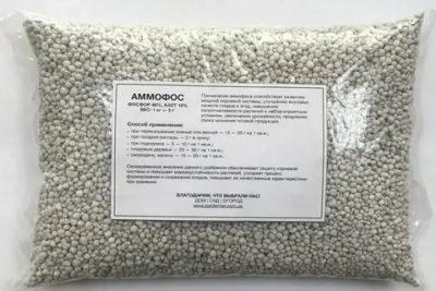 удобрение аммофос применение