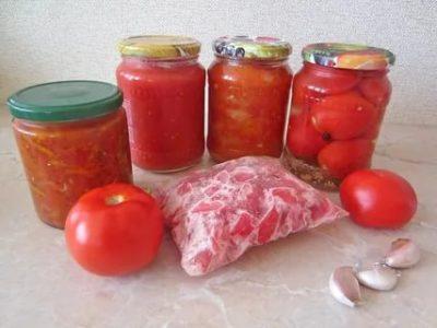 что сделать из помидор на зиму быстро и вкусно