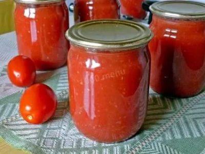 простые заготовки из помидор