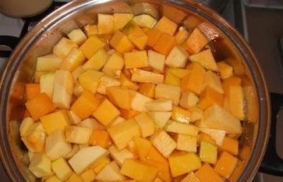 компот из тыквы как ананас на зиму