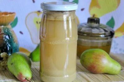 сок из груш на зиму через соковыжималку
