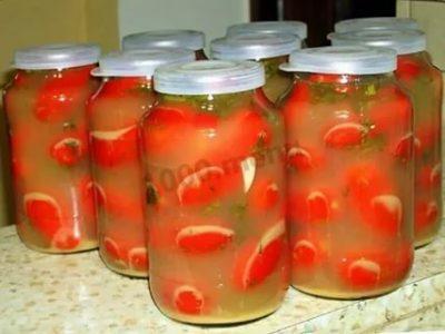 помидоры соленые с горчицей холодным способом