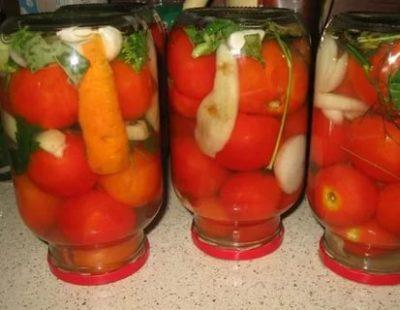 помидоры на зиму с аспирином без уксуса