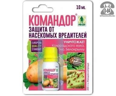 препараты от жука колорадского