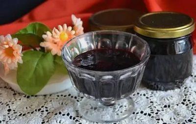 варенье из черники с желатином