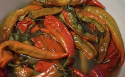 как засолить горький перец