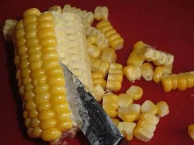 как заморозить кукурузу в початках в домашних условиях